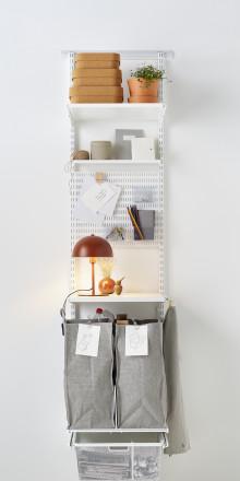 Fylder bunker af papir, glas og anden kildesortering?