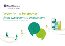Women in business - from classroom to boardroom
