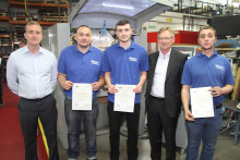 Successful apprenticeship program at European Springs & Pressings