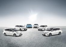 Toyotas globala försäljning av hybrider har passerat sju miljoner