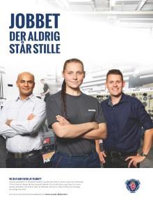 Scania lancerer oplysningkampagne til rekruttering af medarbejdere
