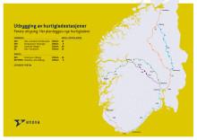Fortum og Enova fyller Sør-Norge med hurtigladere