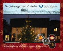 God Jul och Gott nytt år önskar Vreta Kluster