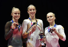 EM-silver i barr för Jonna Adlerteg i Glasgow