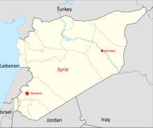 Syrien: 10 000-tals hjälpbehövande instängda i Deir Azzour