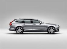Volvo Cars presenterar nya herrgårdsvagnen V90 – smakfull och mångsidig
