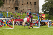 A joust cause