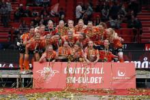 IKSU:s damer svenska mästare i innebandy