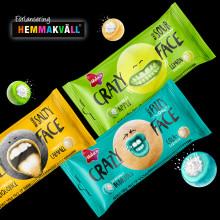 Malaco Crazy Face – godiset med en intensivare smakupplevelse!