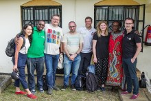 Absolute radio presenter returns from Kenya after groundbreaking campaign broadcast