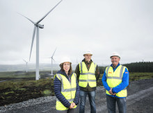 £50m Castlecraig Wind Farm nears completion