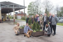 New cathedral garden for Lichfield City station