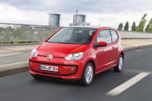 Volkswagen up! är Sveriges populäraste minsting
