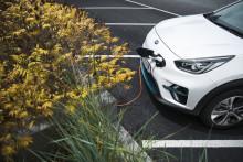 Koldioxidutsläppen för nya Kia-bilar minskar kraftigt