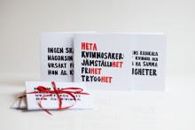 ActionAid firar 8 mars med nya feministiska gåvor