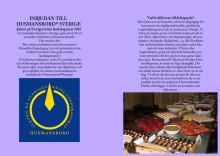 Inbjudan Husmansbord 2016