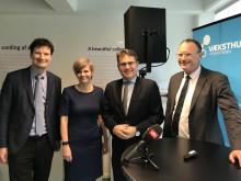 Forenkling af erhvervsfremme præsenteret på pressemøde i Væksthuset