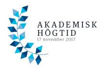 Tre nya professorer installeras, fyra doktorer och en hedersdoktor promoveras när Högskolan i Halmstad firar akademisk högtid