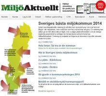 Väsby topp tio i Sverige på miljö.