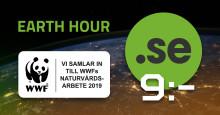 Köp .SE för 9 kr/st fram till Earth Hour – Binero skänker 10 kr till WWF!