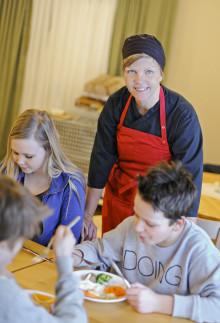 Vallens miljöskola i Kovland finalist i Arla Guldko 2014