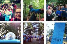 Högtryck på Scouternas lägerverksamhet i sommar!