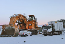 PON Mining har på ett smart och ekonomiskt sätt löst ett stort problem när det gäller service på stora gruvmaskiner
