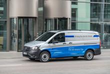 Säljstart för eldrivna Mercedes-Benz eVito i Sverige