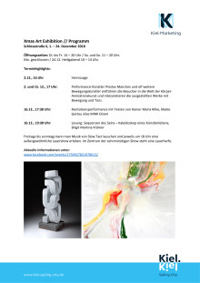 Programmhighlights Xmas Art Exhibition