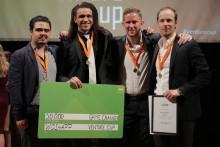 """Biltvättarnas """"Uber"""" prisades i Venture Cups regionfinal"""