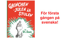 För första gången på svenska: Grinchen!