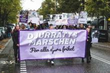 Hundratals väntas marschera för djurs rättigheter i helgen