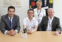 Redwood School Welcomes Ed Timpson Visit