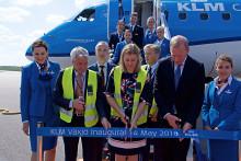 KLM öppnar Växjö - mest hållbara destinationen i KLM:s nätverk