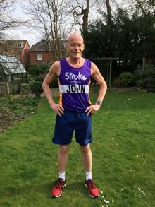 Southampton stroke survivor takes on London Landmarks Half Marathon