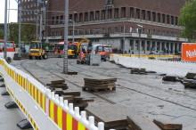 Sporveien oppgraderer på Rådhusplassen