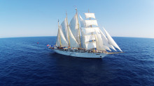 Upplev segling och livet till sjöss under flera dagar – under en transatlantisk kryssning