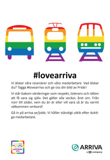 Annons Pride Stockholm