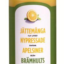 Jättemånga nypressade apelsiner från Brämhults