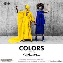 """Utställningen COLORS av Olov """"Sotarn"""" Tegby Frisk  visar ett fotografiskt fyrverkeri av färger och former"""