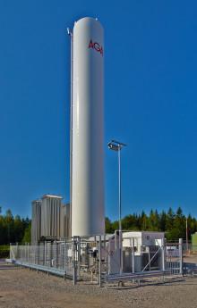 Även Scana Steel i Söderfors väljer LNG från AGA