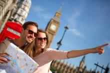 London lokker flest på valentinsdagen!
