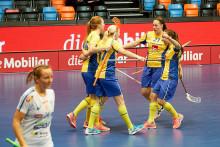 Solklar seger för damerna mot Finland