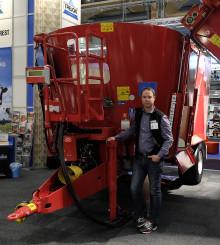Fullfodervagn med automatväxel