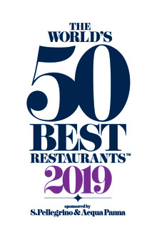 Dekton® är den officiella sponsorn utav The World's 50 Best Restaurants 2019