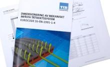 Eurokod på Svenska - TIB ger ut ny komplett handbok för tak- och tätskiktsföretagen