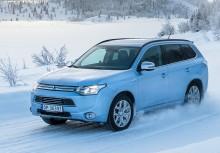 Mitsubishi Outlander Plug-In Hybrid - etterspørselen etter ladbar SUV er kraftig økende