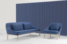 Soundwave® Wall, en akustikpanel av Christophe Pillet