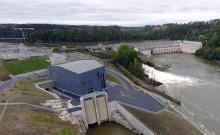 Statsministeren åpnet Norges største elvekraftverk i Østfold