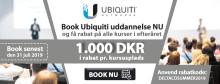 Book efterårets Ubiquiti-træning nu og få 1000 Dkr. rabat